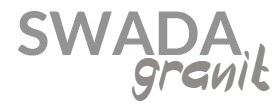 SWADA Granit | Wyroby z granitu
